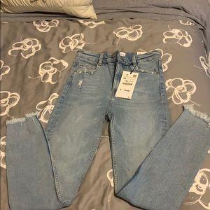 Zara vintage skinny jeans